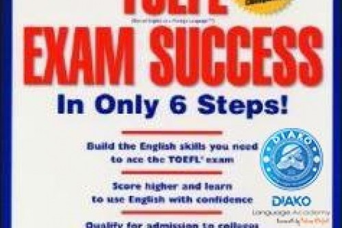 کتاب TOEFL Exam Success In Only ۶ Steps