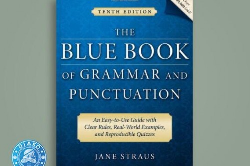 کتاب The Blue Book of Grammar and Punctuation