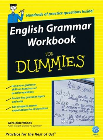 English Grammar Workbook For Dummiesدانلود رایگان